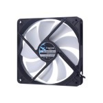 Silent Series R3 - Case fan - 140 mm - black, white