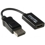 DP-HDMI - Video adapter - DisplayPort / HDMI - HDMI (F) to DisplayPort (M)