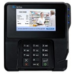 "MX 915 Multimedia Transaction Terminal - MSR, EMV Contact and Contactless Smart Card Reader, NFC, Pinpad, 4.3"" Color Touch Display with Signature Capture, PCI 4.X SC, TCH, Ethernet"