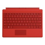 Microsoft Surface 3 Type Cover - Bright Red