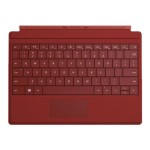 Microsoft Microsoft Surface 3 Type Cover - Red GV7-00005