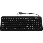 Glow2 - Keyboard - backlit - USB - black