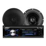 "656BCK - Car - CD receiver - in-dash - Full-DIN - 50 Watts x 4 - with two 6.5"" speakers"