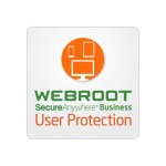 Webroot Software SecureAnywhere Business - User Protection - Upsell / add-on license ( 1 year ) - 1 user, up to 4 devices - academic, volume, federal, local, state, non-profit, central government - level F ( 1000-4999 ) - Win, Mac, Android, iOS U112500021F