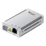 AT MMC2000/LC - Fiber media converter - Gigabit Ethernet - 10Base-T, 1000Base-SX, 100Base-TX, 1000Base-T - RJ-45 / LC multi-mode - up to 1800 ft - 850 nm