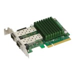 Supermicro Add-on Card AOC-STGN-I2SF - Network adapter - PCIe 2.0 x8 low profile - 10 Gigabit SFP+ x 2