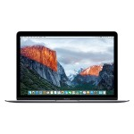 "Apple MacBook 12"" with Retina Display, Intel 1.3GHz Dual-Core Intel Core M processor, 8GB RAM, 256GB PCIe-based flash storage & Intel HD Graphics 5300 - Space Gray - Early 2015 Z0RM-1.3-8-256-SGRY"