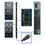 PDU 3-Phase Metered Vertical 8.6kW 45 208V 30A (36 C13 & 9 C19) L21-30P 6ft Cord TAA GSA