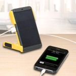 WakaWaka Power+ Solar Powered Battery Charger & 150 hour LED Light - Yellow