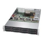 "Super Micro Supermicro SuperStorage Server 6028R-E1CR12L - Server - rack-mountable - 2U - 2-way - RAM 0 MB - SAS - hot-swap 3.5"" - no HDD - AST2400 - GigE, 10 GigE - no OS - monitor: none SSG-6028R-E1CR12L"