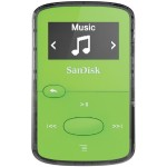 Sandisk Clip Jam - Digital player  - 8 GB - display: 0.96 in - green SDMX26-008G-G46G