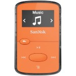 Sandisk Clip Jam - Digital player  - 8 GB - display: 0.96 in - orange SDMX26-008G-G46O