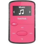 Sandisk Clip Jam - Digital player  - 8 GB - display: 0.96 in - pink SDMX26-008G-G46P