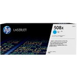 HP Inc. 508X High Yield Cyan Original LaserJet Toner Cartridge CF361X