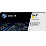 508X High Yield Yellow Original LaserJet Toner Cartridge
