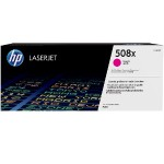 HP Inc. 508X High Yield Magenta Original LaserJet Toner Cartridge CF363X