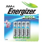 EcoAdvanced AAA Batteries (4-Pack)