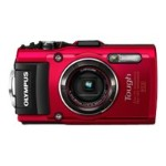 Olympus TG-4 16MP Digital Camera - Red V104160RU000
