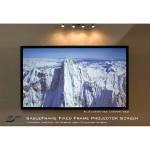 "110"" 16:9 Sable 3D Frame Screen"
