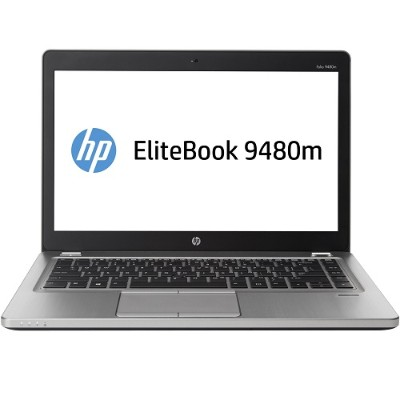HP Smart buy EliteBook Folio 9480m Intel Core i5-4210U Dual-Core 1.70GHz Notebook PC - 8GB RAM, 180GB SSD, 14
