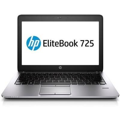 HP Inc.EliteBook 725 G2 AMD Quad-Core Pro A10-7350B 2.10GHz Notebook PC - 4GB RAM, 500GB HDD, 12.5