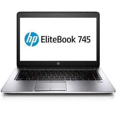 HP Inc.EliteBook 745 G2 AMD Quad-Core Pro A10-7350B 2.10GHz Notebook PC - 4GB RAM, 500GB HDD, 14