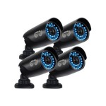 Night Owl Security Products Night Owl CAM-4PK-AHD7 - CCTV camera - outdoor - vandal / weatherproof - color (Day&Night) - 1 MP - 720p - composite - DC 12 V (pack of 4) CAM-4PK-AHD7