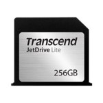 "Transcend JetDrive Lite 130 256GB Storage Expansion Card for MacBook Air 13"" (Late 2010 - Early 2015) TS256GJDL130"