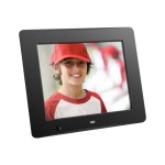 "ADMSF108F - Digital photo frame - flash 4 GB - 8"" - 800 x 600 - matte black"