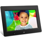 "Aluratek ADMSF310F - Digital photo frame - flash 4 GB - 10"" - 1024 x 600 - matte black ADMSF310F"