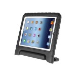 ArmorBox Kido - Back cover for tablet - polycarbonate - black - for Apple iPad (3rd generation); iPad 2; iPad with Retina display (4th generation)