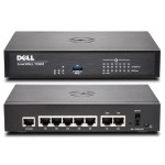 SonicWall TZ400, 4x800MHz cores, 7x1GbE interfaces, 1GB RAM, 64MB Flash - Security Appliance 01-SSC-0213