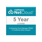 NetCloud Manager PRIME - Subscription license (5 years) + 5 Years CradleCare Basic - hosted - for CAT2 Products