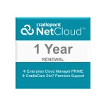NetCloud Manager PRIME - Subscription license renewal (1 year) + 1 Year CradleCare - hosted
