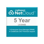 NetCloud Manager PRIME - Subscription license (5 years) + 5 Years CradleCare - hosted - for CAT2 Products