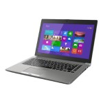 "Tecra Z40 - Ultrabook - Core i5 5300U / 2.3 GHz - Win 7 Pro 64-bit / 8.1 Pro 64-bit - 8 GB RAM - 128 GB SSD - no ODD - 14"" 1366 x 768 ( HD ) - HD Graphics 5500 - 802.11ac - cosmo silver with hairline, tile matte black with silver frame (keyboard) - kbd: U"