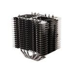 FX70 - Processor heatsink - ( LGA775 Socket, LGA1156 Socket, Socket AM2, Socket AM2+, LGA1366 Socket, Socket AM3, LGA1155 Socket, Socket AM3+, LGA2011 Socket, Socket FM1, Socket FM2, LGA1150 Socket ) - aluminum and copper - black pearl