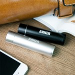 Anker Astro Mini 3200mAh Lipstick-Sized External Battery with PowerIQ Technology for iPhone & Smart Phones - Black 79AN7913S-B2A