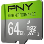 64GB High Performance microSDXC Flash Card Model