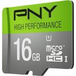 16GB High Performance UHS-I microSDHC Memory Card U1, Class 10