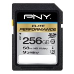 256GB Elite Performance UHS-1 SDXC Memory Card U3, Class 10