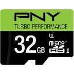 32GB Turbo Performance High Speed UHS-I microSD Memory Card U3, Class 10