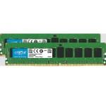 Crucial - DDR4 - 16 GB : 2 x 8 GB - DIMM 28