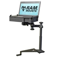 RAM Mounts No-Drill Laptop Mount for the 2015 - 2017 Ford F-150 & Transit Connect RAM-VB-195-SW1