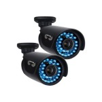 Night Owl CAM-2PK-AHD7 - CCTV camera - outdoor - vandal / weatherproof - color (Day&Night) - 1 MP - 720p - composite - DC 12 V (pack of 2)