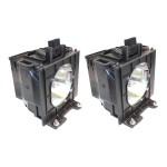 ET-LAD57W-ER Compatible Bulb - Projector lamp ( equivalent to: ET-LAD57W ) - 2000 hour(s) - for Panasonic PT-D5700, DW5100