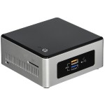 Next Unit of Computing Kit NUC5CPYH - Barebone - mini PC - 1 x Celeron N3050 / 1.6 GHz - HD Graphics - GigE - WLAN: 802.11a/b/g/n/ac, Bluetooth 4.0 LE