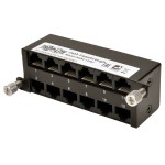 High Density Cat5e / Cat6 Pass-Through Cassette 12 RJ45