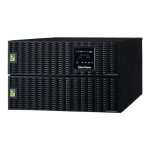 Cyberpower Smart App Online OL10000RT3UPDU - UPS ( rack-mountable / external ) - AC 200-240 V - 9000 Watt - 10000 VA 9 Ah - RS-232, USB - output connectors: 7 - 6U OL10000RT3UPDU
