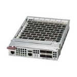 Supermicro MicroBlade MBM-XEM-001 - Switch - managed - 4 x 40 Gigabit QSFP (uplink) - plug-in module
